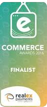 Realex Payments eCommerce Awards 2016 Finalist
